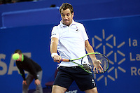 RICHARD GASQUET - 08.02.2015 - Tennis - Finale Open Sud de France- Exhibition contre Artem Sitak - Montpellier<br /> Photo : Andre Delon / Icon Sport