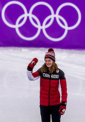 22-02-2018 KOR: Olympic Games day 13, PyeongChang<br /> Short Track Speedskating / Kim Boutin of Canada