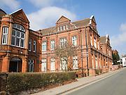 Victorian architecture of Ipswich museum, Suffolk, England