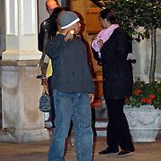 NLD/Amsterdam/20080623 - Presentatrice en topmodel Tyra Banks gaat naar haar hotel na een borreltje in the Grand Amsterdam