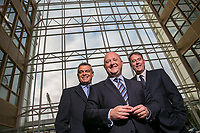 No Repro Fee<br /> 18-9-2013<br /> Picture shows from left  Riccardo Brizzi, COO,SQS Group ; Phil Codd, Managing Director, SQS Ireland;and  Dik Vos, Chief Executive Officer, SQS Group; at the announcement that SQS, the world&rsquo;s leading specialist in software quality, has today announced further expansion of its Irish operations, with the creation of an additional 75 jobs over the coming three years.  Already employing over 200 people across its Dublin and Belfast operations, SQS is committed to increasing its workforce by over 35 per cent by 2016. <br /> Pic:Naoise Culhane Photography - no fee<br /> For Business Desk