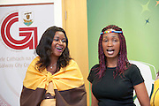 21/05/2013 Repro free.  21/05/2013 Repro free. Catherine Kate Njemcenze and Mysa Moshoeshoi from Ladies of the South Choir at the launch of Africa Day 2013 at Galway City Museum by Galway City Council and Irish Aid  ..Africa Day falls on 25th May each year, with events taking place around the country from 20th-27th May. It is an initiative of the African Union, and aims to celebrate African diversity and success and the cultural and economic potential of the continent. In Ireland, events to mark Africa Day are supported by Irish Aid, the Government's programme for overseas development and Galway City Council...The events planned by Galway City Council will take place on 21st May and from 24th to 26th May. Galway City Council are launching Africa Day 2013 by Mayor of Galway City Cllr Terry O'Flaherty on Tuesday 21stMay @ 11:00 a.m.at the Galway City Museum with inputs from the African Ambassadors Network, Africian Film Festival, NUIG and music by South Africian Choirs. Picture:Andrew Downes