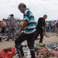 Algeria, Annaba . The flea market near Saint Augustin basilica     / le marche aux puces au pied de la basilique saint Augustin  Bone  Algerie  Annaba 008