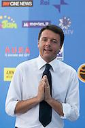 Giffoni Valle Piana (SA) 16.07.2012 - Giffoni Film Festival 2012. Photocall del sindaco di Firenze Matteo Rienzi.  Foto Giovanni Marino