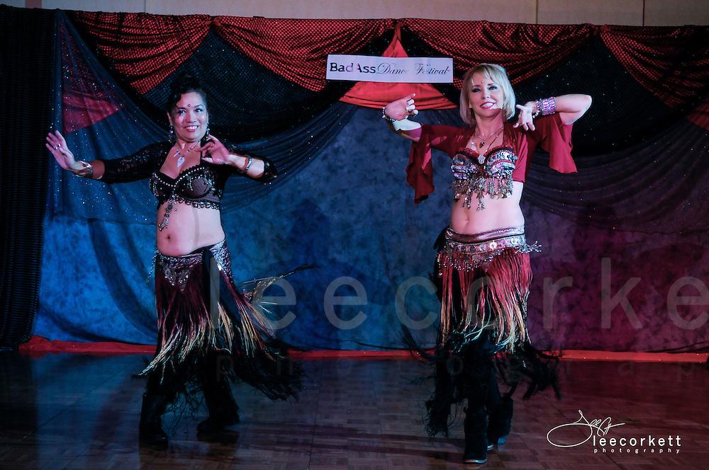 A dance performance at the 2014 BadAss Dance Festival