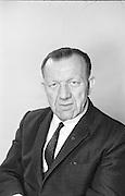Director General of the GAA Sean O'Siochain. 9.6.1973. 9th June 1973