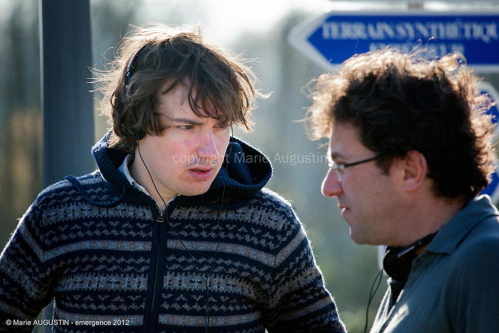 Guilhem AMESLAND, réalisateur - tournage scène imposée - emergence 2012