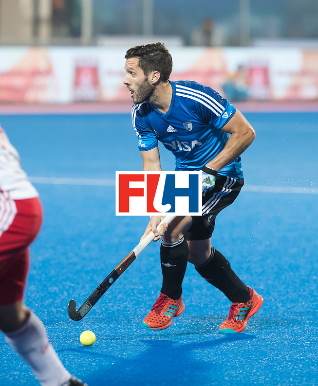 Odisha Men's Hockey World League Final Bhubaneswar 2017<br /> Match id:14<br /> England v Argentina , Quater Final<br /> Foto: Agustin Mazzilli (Arg)<br /> WSP COPYRIGHT KOEN SUYK