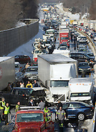 100 car accident
