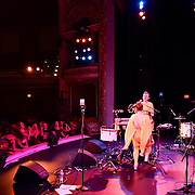 Lucius performs at The Music Hall in Portsmouth, NH on Sept. 17 2015