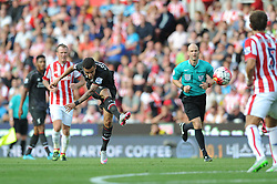 Philippe Coutinho of Liverpool scores - Mandatory byline: Dougie Allward/JMP - 07966386802 - 09/08/2015 - FOOTBALL - Britannia Stadium -Stoke-On-Trent,England - Stoke City v Liverpool - Barclays Premier League