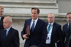 SEP 01 2014 David Cameron