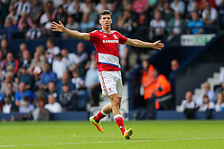 Daniel Ayala of Middlesbrough - Rogan Thomson/JMP - 28/08/2016 - FOOTBALL - The Hawthornes - West Bromwich, England - West Bromwich Albion v Middlesbrough - Premier League.