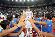 DESCRIZIONE : Roma Amichevole preparazione Eurobasket 2007 Italia Grecia<br /> GIOCATORE : Denis Marconato<br /> SQUADRA : Nazionale Italia Uomini <br /> EVENTO : Amichevole preparazione Eurobasket 2007 Italia Grecia <br /> GARA : Italia Grecia <br /> DATA : 30/08/2007 <br /> CATEGORIA : Ritratto<br /> SPORT : Pallacanestro <br /> AUTORE : Agenzia Ciamillo-Castoria/G.Ciamillo