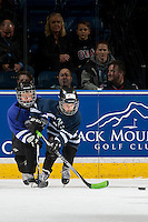 KELOWNA, CANADA - NOVEMBER 15: Mini minor hockey players on November 15, 2016 at Prospera Place in Kelowna, British Columbia, Canada.  (Photo by Marissa Baecker/Shoot the Breeze)  *** Local Caption ***