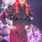 NLD/Amsterdam/20161025 - finale Holland Next model Top model 2016, model Noor van Velzen