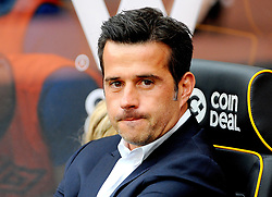 Everton manager Marco Silva looks on - Mandatory by-line: Nizaam Jones/JMP - 11/08/2018/ - FOOTBALL -Molineux  - Wolverhampton, England - Wolverhampton Wanderers v Everton - Premier League