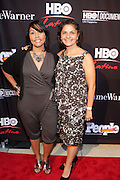 16 September : New York, NY- Lucinda Martinez, HBO Executive, and Doris Casap, HBO Executive at the HBO Latino screening of ' The Latino List ' on September 16, 2011 held at El Museo Del Barrio in New York City. Photo Credit: Terrence Jennings