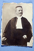 portrait of a judge France 1900s