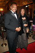 l to r: Jesse Jackson and Jaqueline Lavinia Brown at The Alvin Ailey Opening Night Gala and Celebration of the 20th Anniversary of Judith Jamison as Artistic Director held at The New York City Center on Decemeber 2, 2009 in New York City