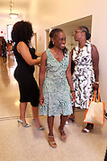 New York, NY-July 30: (L-R) Beverly Bond, Founder Black Girls Rock!New York City First Lady Chirlane McCray and Dean Avis Hinkson attend the Inaugural Black Girls LEAD Conference held at Barnard College at Columbia University on July 30, 2015 in New York City.  (Photo by Terrence Jennings/terrencejennings.com)