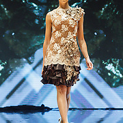 NLD/Amsterdam/20151211 - Modeshow Monique Collignon tijdens LXRY Masters of Luxery 2015,