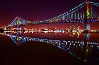 Philadelphia - Benjamin Franklin Bridge, Delaware River