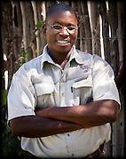 Petrus Nanyeni, game guide at Mushara Lodge, 2012.  Etosha, Oshikoto Region, Namibia, Africa.