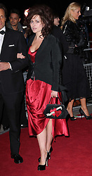 Helena Bonham Carter   arriving at the Hollywood Costume Dinner held at the VIctoria & Albert Museum in London on Tuesday, 16th October 2012. Photo by: Stephen Lock / i-Images