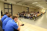 DESCRIZIONE : Ancona raduno nazionale maschile senior - visita scuole<br /> GIOCATORE : Achille Polonara Andrea De Nicolao e Daniele Magro<br /> CATEGORIA : nazionale maschile senior<br /> GARA : Ancona raduno nazionale maschile senior - visita scuole<br /> DATA : 10/02/2014<br /> AUTORE : Agenzia Ciamillo-Castoria