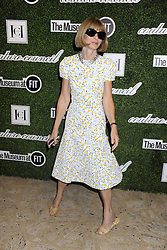 Image ©Licensed to i-Images Picture Agency. 03/09/2014. New York, United States.<br /> 62302875<br /> Anna Wintour attends the 8th Annual Fashion Award Honouring Carolina Herrera at David H. Koch Theatre at Lincoln Centre. Picture by  imago / i-Images<br /> UK ONLY