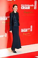 Ministre de la culture Aurélie Filippetti arrive au Fouquets pour le repas après les César 2014, Restaurant le Fouquet's