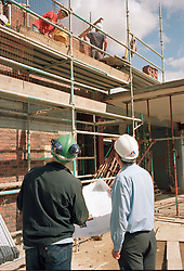 Social housing construction, London Borough of Haringey UK