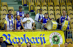 Ravbarji, fans of Helios at first finals basketball match of Slovenian Men UPC League between KK Union Olimpija and KK Helios Domzale, on May 27, 2009, in Arena Tivoli, Ljubljana, Slovenia. (Photo by Vid Ponikvar / Sportida)