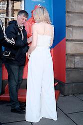 Edinburgh International Film Festival 2019<br /> <br /> Hurt By Paradise (World Premiere)<br /> <br /> Stars and guests arrive on the red carpet for the world premiere<br /> <br /> Pictured: Tanya Burr<br /> <br /> Alex Todd | Edinburgh Elite media