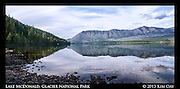 Mountain Reflections<br /> Lake McDonald - Glacier National Park - MT<br /> September 2013