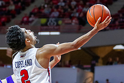NORMAL, IL - December 31: Zach Copeland during a college basketball game between the ISU Redbirds and the University of Northern Iowa Panthers on December 31 2019 at Redbird Arena in Normal, IL. (Photo by Alan Look)