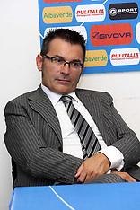 20110617 PRESENTAZIONE STEFANO VECCHI NUOVO ALLENATORE SPAL