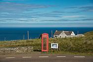 Europe, United Kingdom, Scotland, Armadale,  rural phone booth
