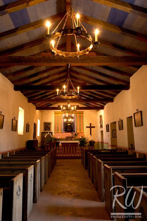 Chapel, Soledad Mission, California