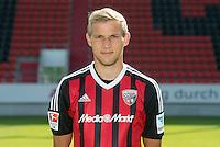 German Soccer Bundesliga 2015/16 - Photocall of FC Ingolstadt 04 on 09 July 2015 in Ingolstadt, Germany: Stefan Wannenwetsch