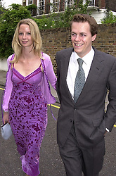 MR TOM PARKER BOWLES son of Camilla Parker <br /> Bowles and MISS ABIGAIL WALTERS, at a party in <br /> London on 29th June 2000.OFX 16<br /> © Desmond O'Neill Features:- 020 8971 9600<br />    10 Victoria Mews, London.  SW18 3PY <br /> www.donfeatures.com   photos@donfeatures.com<br /> MINIMUM REPRODUCTION FEE AS AGREED.<br /> PHOTOGRAPH BY DOMINIC O'NEILL