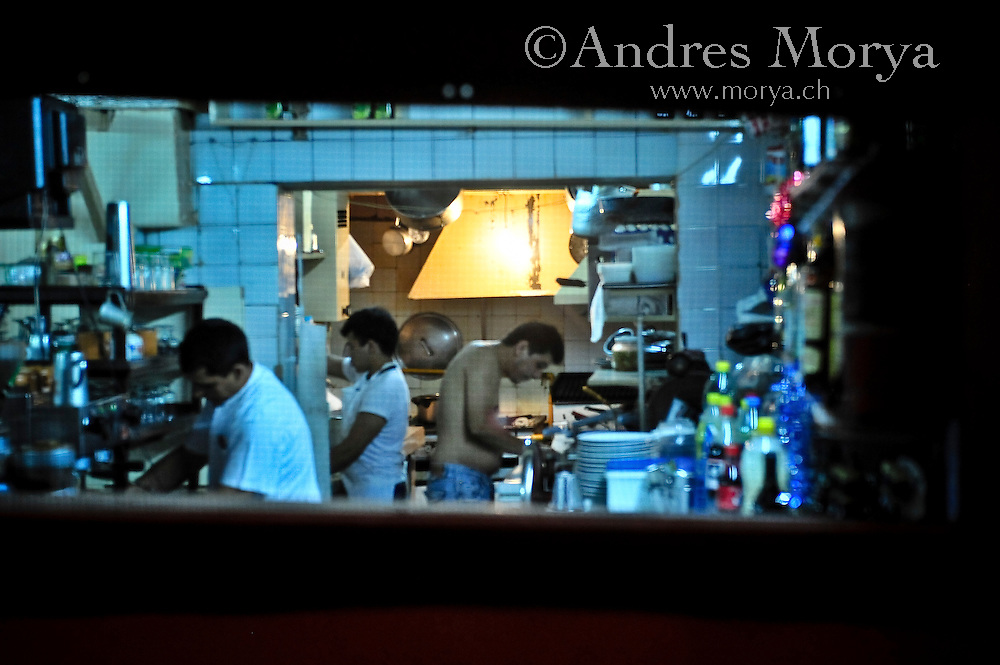 Restaurant in Barrio Boedo, Buenos Aires, Argentina Image by Andres Morya
