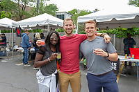 The 5th annual Hyde Park Brew Fest was held Saturday and Sunday, June 5th and 6th, 2018. Participants were treated to a day of music and beer tastings from local breweries with a headline performance by the legendary D.J. Jazzy Jeff. The event was sponsored by the Kimbark Beverage Shoppe, the Hyde Park Chamber of Commerce, Courvosoier and Effen.<br /> <br /> 0085 &ndash; (l to r) Danielle Turner, Brett Mittelsdedt and Chris Smith<br /> <br /> Please 'Like' &quot;Spencer Bibbs Photography&quot; on Facebook.<br /> <br /> Please leave a review for Spencer Bibbs Photography on Yelp.<br /> <br /> Please check me out on Twitter under Spencer Bibbs Photography.<br /> <br /> All rights to this photo are owned by Spencer Bibbs of Spencer Bibbs Photography and may only be used in any way shape or form, whole or in part with written permission by the owner of the photo, Spencer Bibbs.<br /> <br /> For all of your photography needs, please contact Spencer Bibbs at 773-895-4744. I can also be reached in the following ways:<br /> <br /> Website &ndash; www.spbdigitalconcepts.photoshelter.com<br /> <br /> Text - Text &ldquo;Spencer Bibbs&rdquo; to 72727<br /> <br /> Email &ndash; spencerbibbsphotography@yahoo.com<br /> <br /> #killyourcity #citykillerz #illgramers #way2ill #agameoftones #urbex #createexplore #exploretocreate #streetactivityteam #streetdreamsmag #neverstopexploring #featuremeinstagood #igersone #shoot2kill #streetshared #streetmobs #urbanphotography #streetphotography #streetexploration #urbanandstreet #imaginatones #streettogether #streetmagazine #streetmobs #peopleinsquare #moodygrams #illgrammers #instamagazine #twgrammers #shotaroundmag #illkillers #killergrams #superhubs #urbanromantix #livefolk #shotaward #_heater #yngkillers #shotzdelight #1stinstinct  #heatercentral <br /> #agameoftones #ig_masterpiece #ig_exquisite #ig_shotz #global_hotshotz #superhubs #main_vision #master_shots #exclusive_shots #hubs_united #jaw_dropping_shotz #worldshotz #theworldshotz #pixel_ig #photographyislifee #photographyislife #photographysouls #photographyeveryday #photographylover #worldbestgram #iglobal_photographers #ig_great_pic