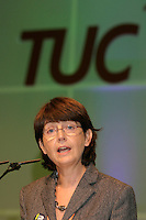 Kay Carberry, TUC Assistant General Secretary, speaking at the TUC....© Martin Jenkinson tel 0114 258 6808  mobile 07831 189363 email martin@pressphotos.co.uk  NUJ recommended terms & conditions apply. Copyright Designs & Patents Act 1988. Moral rights asserted credit required. No part of this photo to be stored, reproduced, manipulated or transmitted by any means without prior written permission.