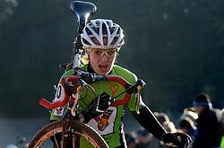 12-01-2014 WIELRENNEN: STANNAH NK CYCLOCROSS VROUWEN: GIETEN<br /> Danielle Meijering<br /> &copy;2014-FotoHoogendoorn.nl