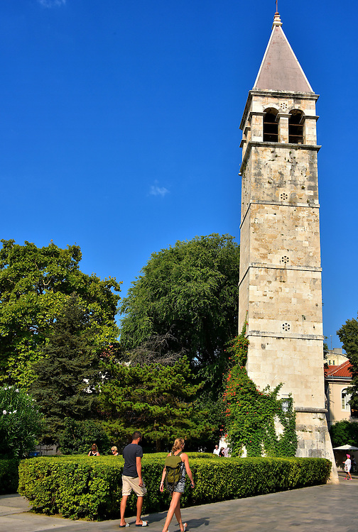 Bell Tower of St. Arnir in Split, Croatia<br />