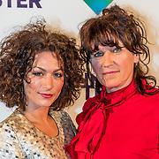 NLD/Amsterdam/20170420 - Premiere De Mannentester, Eva van de Wijdeven en Renee Fokker