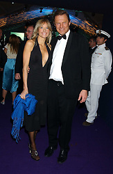 LORD & LADY ST.JOHN of BLETSO at The British Red Cross London Ball - H2O The Element of Life, held at The Room by The River, 99 Upper Ground, London SE1 on 17th November 2005.<br />