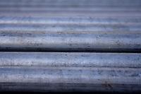 Metal pipe - close-up